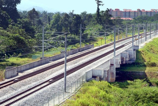 Electrified Double Track Project Between Rawang and Ipoh (Bridge Works) (Bridge Works : RB774, 736, 731, 810 and 734, Total Deck Area=3,915m2)