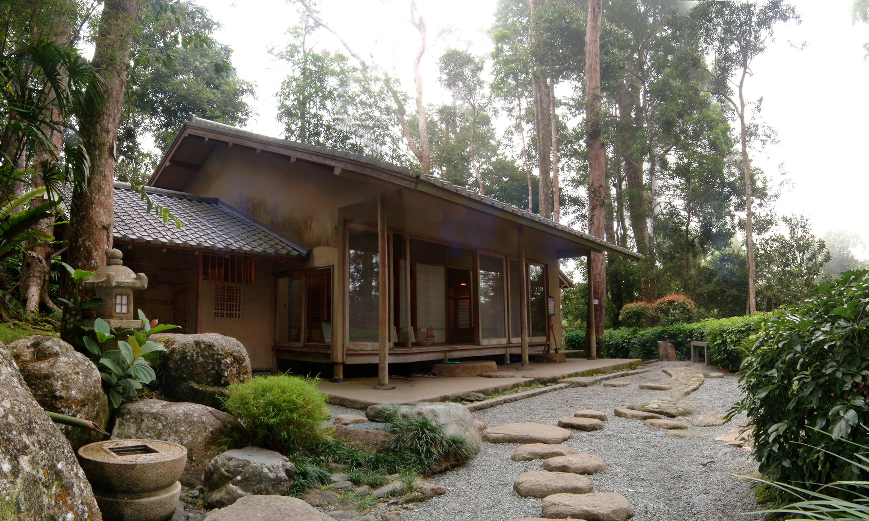 Japanese Tea House and Landscaping Works